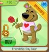 Friendship day bear