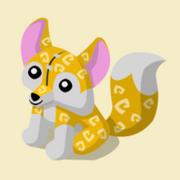 Item Exclusive Fox Plushie yellow