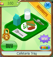 Cafeteria tray 2