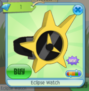 Eclipse Watch yellow