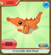 Crocodile mini-plush 1