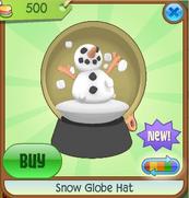 Yellow Snow Globe Hat