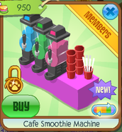 Cafe smoothie machine 4