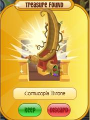 Cornucopia Throne