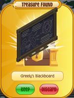 Greely's Blackboard