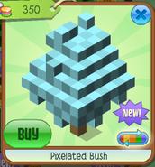 Pixelated bush 1