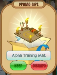 Alpha Training Mat Prize