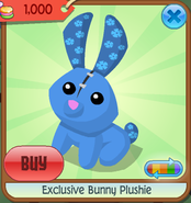 Exclusive bunny plushie 10