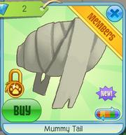 Mummy tail