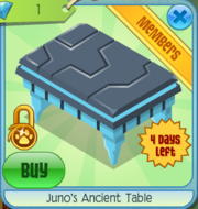 Junos Ancient Table