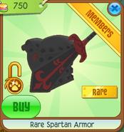 Rare Spartan Armor