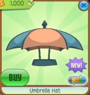 Umbrella Hat orange