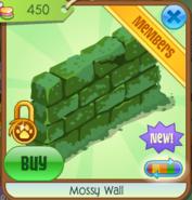 Mossy Wall green