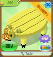PigTable Yellow(6)