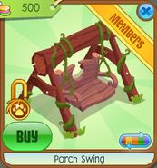 Treetop-Gardens Porch-Swing Red