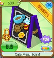 Cafe menu board 7