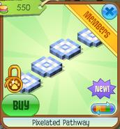Pixelated pathway 1