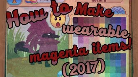 HOW TO MAKE WEARABLE MAGENTA ITEMS?!?! *2017*
