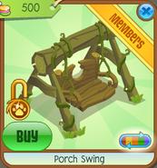 Treetop-Gardens Porch-Swing Yellow