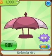 Umbrella Hat pink