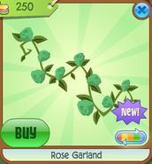 Shop Rose-Garland Green