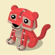 Item Exclusive Tiger Plushie red