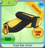Royal Bee Armor