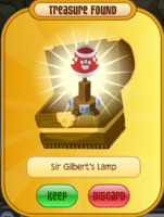 Sir Gilbert's Lamp