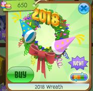 2018WreathGreen