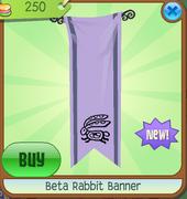 Beta Rabbit Banner
