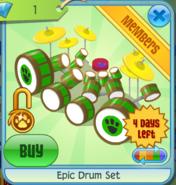 Epic-Drum-Set-Green