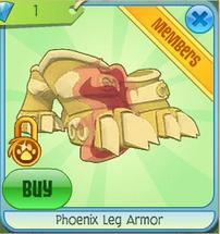 Phoenix Leg Armor