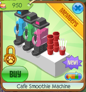 Cafe smoothie machine 6