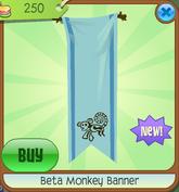 Beta Monkey Banner