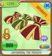 Jamaaliday Tail Ribbons