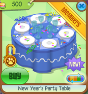 New-Years-Shop New-Years-Party-Table Blue