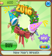 New-Years-Shop New-Years-Wreath Green