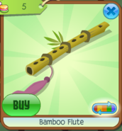 Bamboo Flute Pink