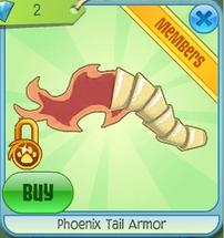 Phoenix Tail Armor
