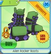 Alien Rocker Boots