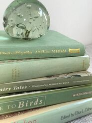 Mint Green Books Mint Green Decor Mint Decor
