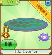 Beta Green RugAJ
