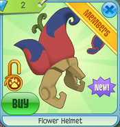 Diamond-Shop Flower-Helmet