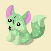 Item Exclusive Fox Plushie green