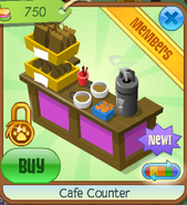 Cafe counter 4