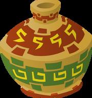 Large Painted Pot4