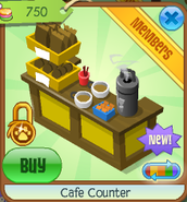 Cafe counter 3