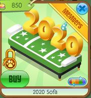 Green 2020 Sofa