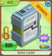 Shop Space-Locker Green