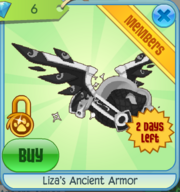Liza's Ancient Armor